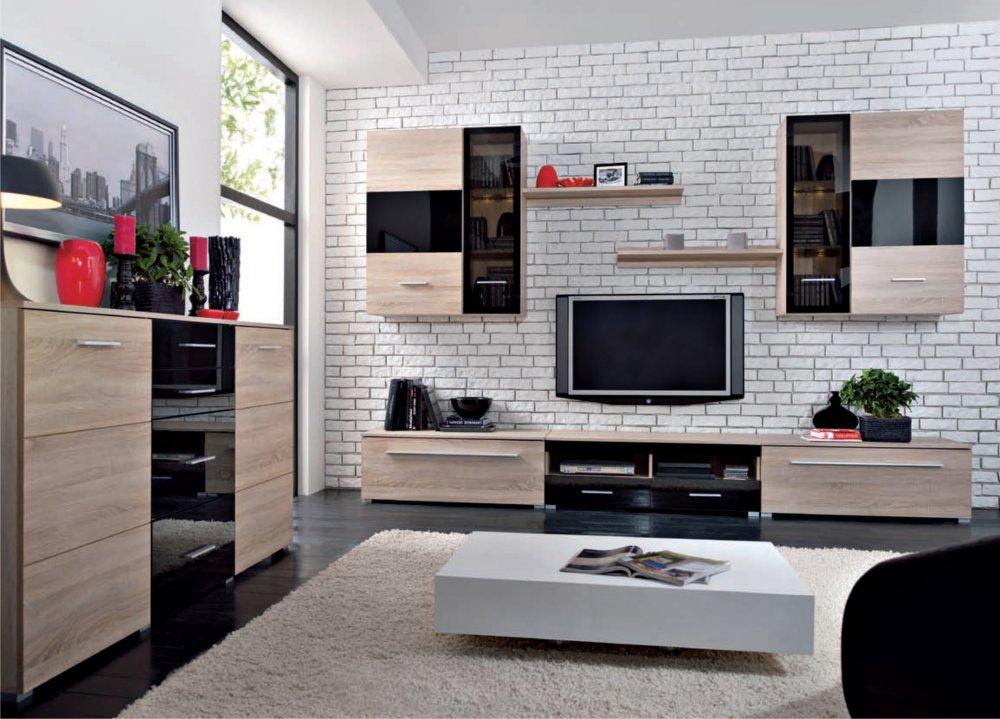 Obývací stěna - BRW - Somatic